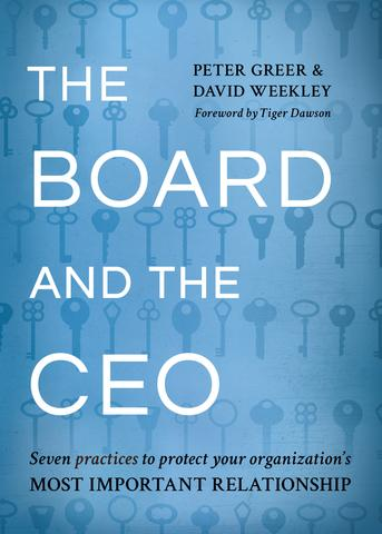 The Board and the CEO